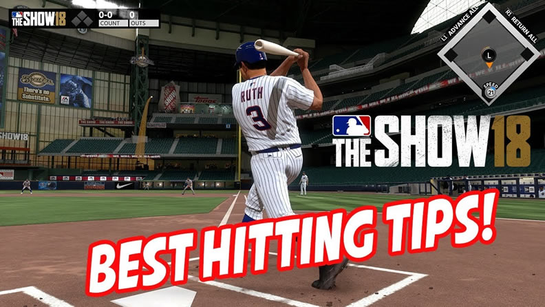 MLB The Show 18 hit